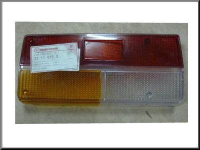 Rear light cap left Lada 2107 since 1997.